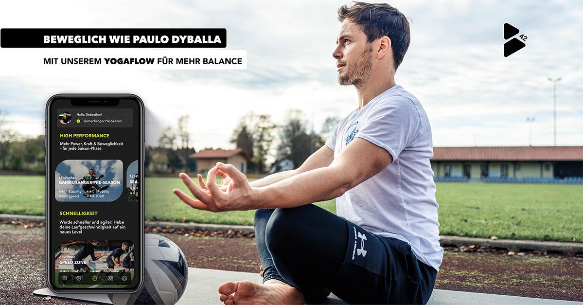 Yoga in football